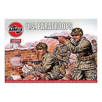 Toisen maailmansodan Yhdysvaltain laskuvarjojääkäri 1:76 Ilmakorjausluvut