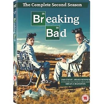 Breaking Bad Season 2 DVD