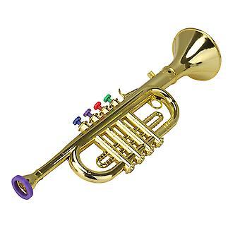 37cm Longueur Trompette en plastique Horn Wind Instrument pour les parties et les événements
