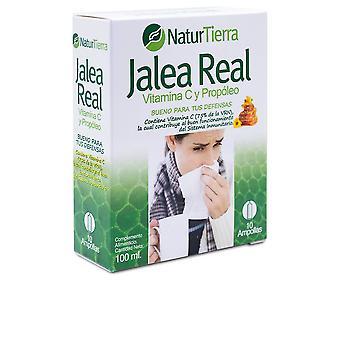 Naturtierra Jalea Real Con Vitamina C Y Propóleo 10 Ampollas Unisex