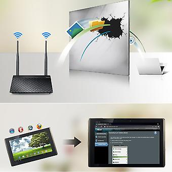 Roteador Wifi Asus Rt-n12+ 300mbps 2.4ghz Wps Vpn Wireless Router com 2 antenas
