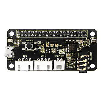 5V respeaker 2-mikrofon pi hatt v1.0 expansionskort för raspberry pi 4b / noll / noll w / b + / 3b + / 3b