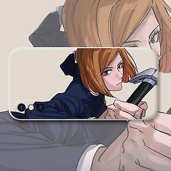Retour au combat apple x étui de téléphone portable rouge iphonex housse de protection