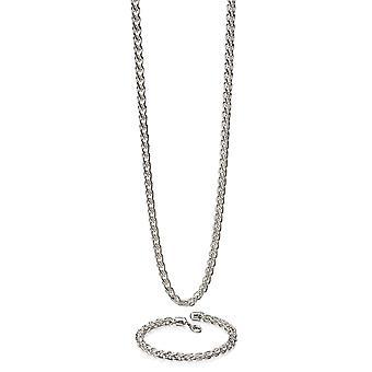 Fred Bennett Muži 925 Sterling Stříbrný řetízek náhrdelník o délce 56cm N4148
