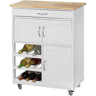 SoBuy cocina carrito, FKW45-WN