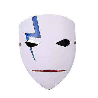 Mask Cosplay  Face Brass Resin Helmet Game Costume For Men Halloween(GROUP1)