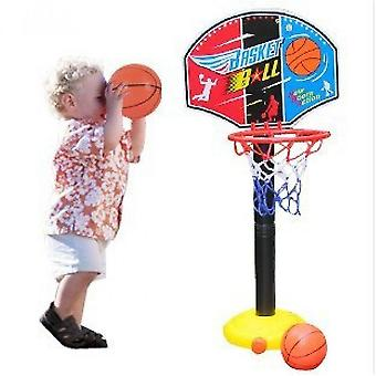 المحمولة الاطفال قابل للتعديل ارتفاع كرة السلة مجموعة داخلية للأطفال موقف كرة السلة