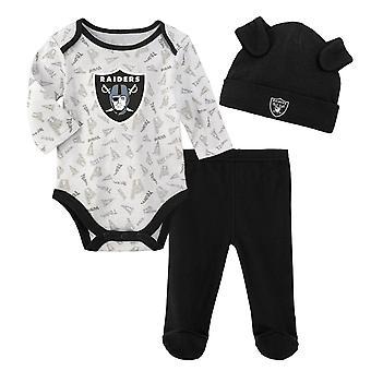 NFL Newborn Baby Set - LITTLE Las Vegas Raiders