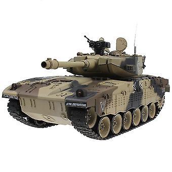 Rc Tank Taktisk Vehicle Main Battle Militær Model Sound Rekyl Elektronisk