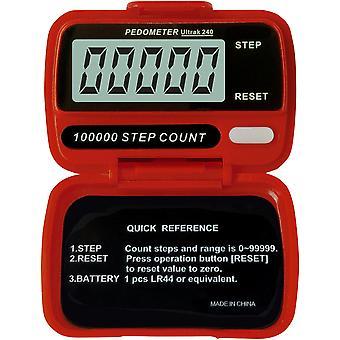 Ultrak 240 - Contapassi elettronico - rosso