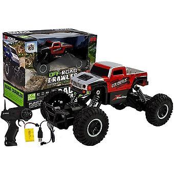 Rádióvezérelt Monster Truck - Piros - 19 cm