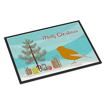 Door mats norwich canary merry christmas indoor or outdoor mat 24x36