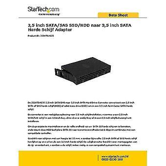 Hard drive enclosures mounts 2.5In sata/sas ssd/hdd to 3.5In sata hard drive converter