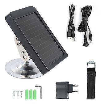 7V 1500mah cargador de panel solar al aire libre us / eu enchufe fuente de batería de alimentación externa solo para suntek