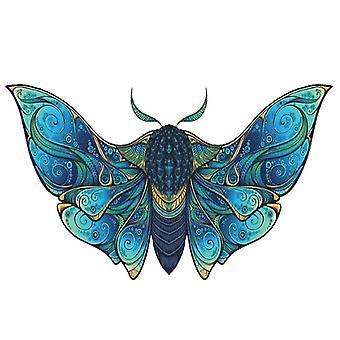 Fly Moth palapeli pala peli lapsille ja aikuisille(A4)