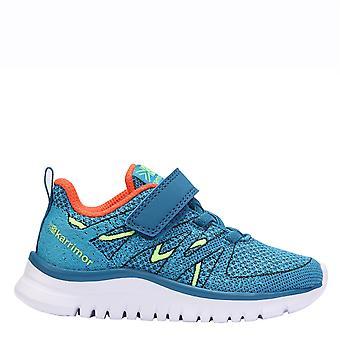 KARRIMOR Kids charger 2 chaussures de course filles lacer formateurs Sports coureurs