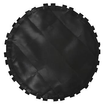 1pc Черный батут Замена Прыжки Мат Батут Круглый коврик с крючками