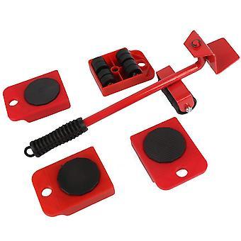Möbel Lifter Mover Tool Set Heavy Duty Möbel Transport Shifter Wheel Moving Slider