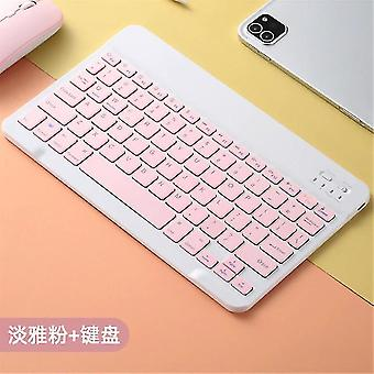 Qwert 10 Inch Draadloze Bluetooth Toetsenbord Muis Notebook Bluetooth Toetsenbord Notebook