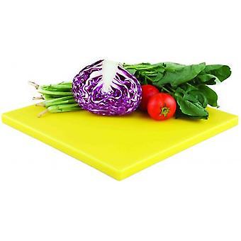POLIETILENO HEAVY DUTY quadrado corte cortar placa amarela 35x35CM