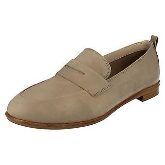 Ladies Clarks Smart Slip On Loafers Alania Belle