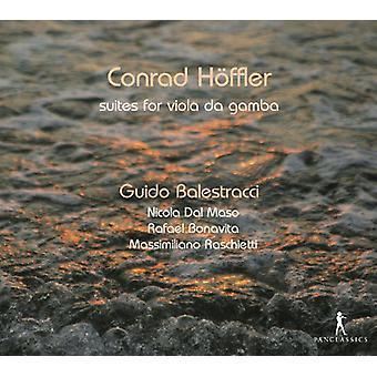 Hoffler / Balestracci - Suiten Fur Viola Da Gamba (Pri [CD] USA import