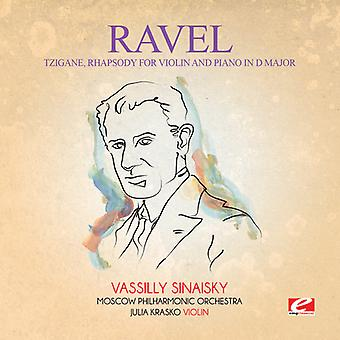 Ravel - Tzigane Rhapsody ved Violin klaver D Major [CD] USA import