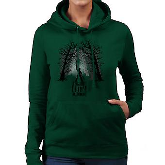 The Comeback Ash Vs Evil Dead Straight Outta Retirement Women's Hooded Sweatshirt