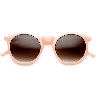 لون الباستيل P3 الكلاسيكية الإطار ثقب المفتاح انعقدت جولة القرن النظارات الشمسية