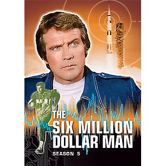 6 Millionen Dollar Mann: Season 5 [DVD] USA import