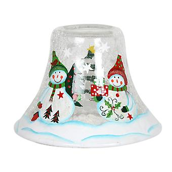Aroma snømann stearinlys Jar lampe