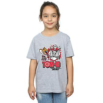 Tom And Jerry Girls Tomic Energy T-Shirt