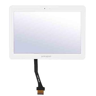 Pekskärm för Samsung N8013-N8010 10,1 tablett Note N8000 vit