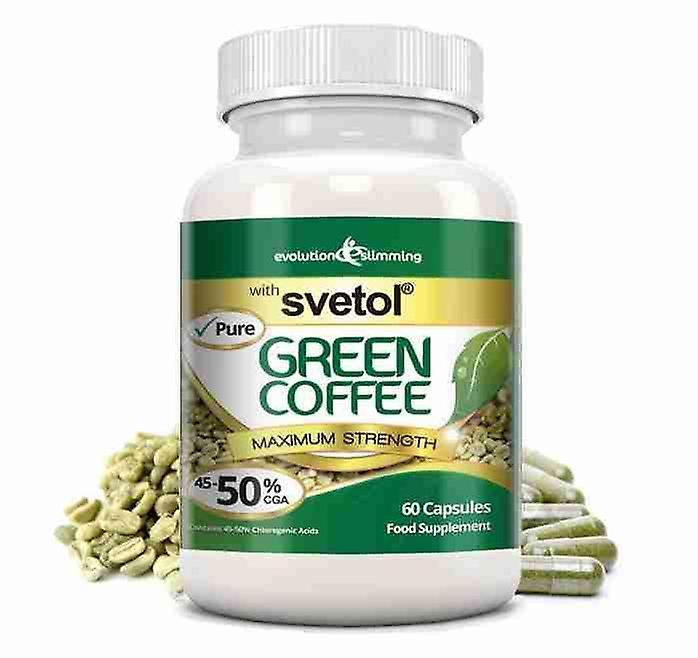 Pure Svetol Green Coffee Bean With 50 Cga 60 Capsules Fat