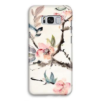 Samsung Galaxy S8 volledige Print geval (Glossy) - Japenese bloemen