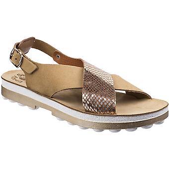 Fantasy Womens/Ladies Izabella Buckle-Up Ankle Strap Summer Sandal