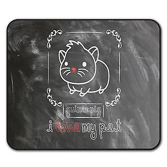 Guinea Pig Pet Animal  Non-Slip Mouse Mat Pad 24cm x 20cm | Wellcoda