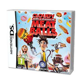 Overskyet med en chance for kødboller (Nintendo DS)-fabriks forseglede