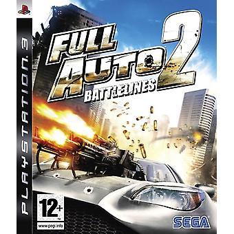 Pełna linia bojowa Auto 2 (PS3) – nowość