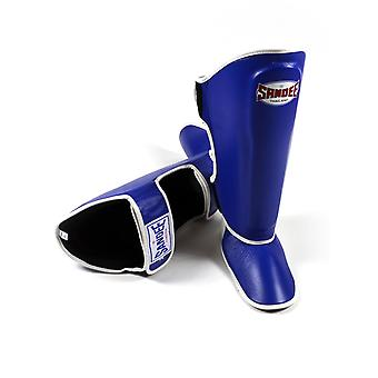 Sandee Authentic Leather Shin Guards