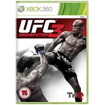 UFC ubestridt 3 (Xbox 360)-fabriks forseglet