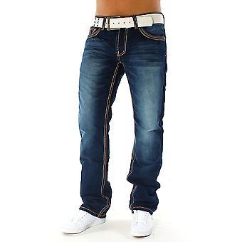 Men Jeans Destroyed Destroyed Regular Fit Alessandro