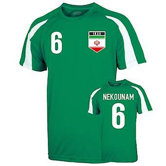 Иран спорта подготовки Джерси (nekounam 6) - для детей
