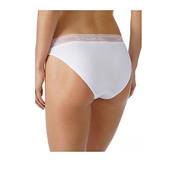 Algodão do laço cor sólida calcinhas Panty breve completo do Mey 29513 mulheres