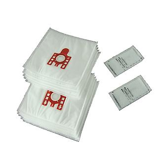 10 X Miele S700 To S758 FJM Vacuum Cleaner Hoover Dust Bags & Filters