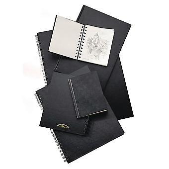 Winsor & Newton Hardback Sketch Book Spiral Bound Heavy Weight 170gsm A4