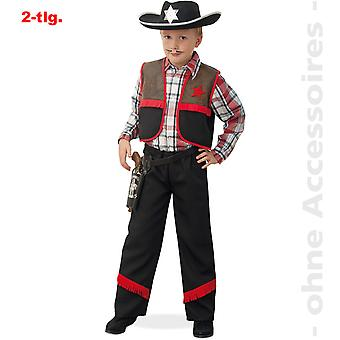 Cowboy kostume børn røgteren Ranger Revolerheld barn kostume