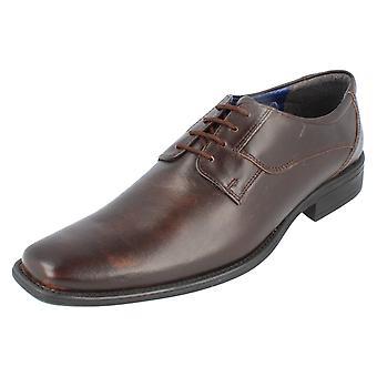 Mens Bruno Donnari Smart Lace Up Shoes NN 905