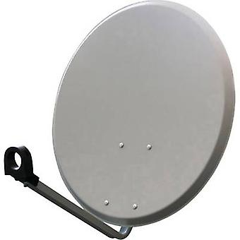 Slimme SEC60SG SAT antenne 60 cm reflecterend materiaal: staal lichtgrijs