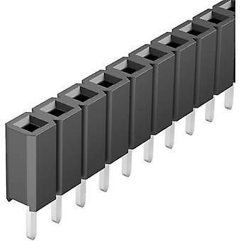 Fischer Elektronik astioiden (vakio) nro rivien: 1 nastat rivillä: 36 BL LP 1 / 36/S 1 PCs()